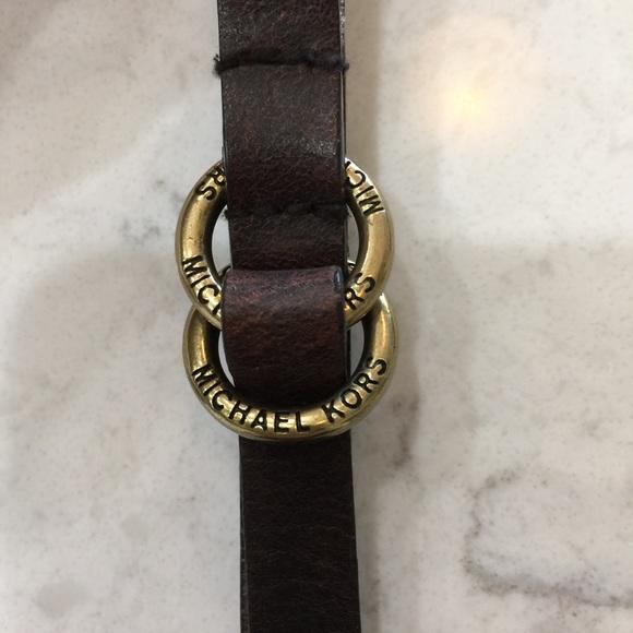 859ad3bc324 Michael Kors Leather Belt. M_5c45daf8534ef95b34c329e8